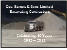 George Barnes & Sons Excavating Ltd.