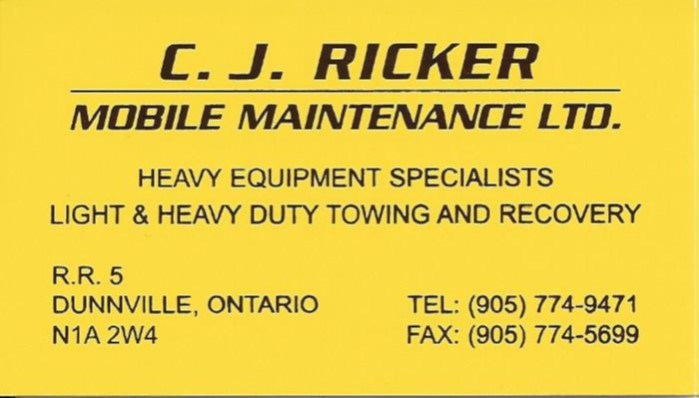 C J Ricker Mobile Maintenance