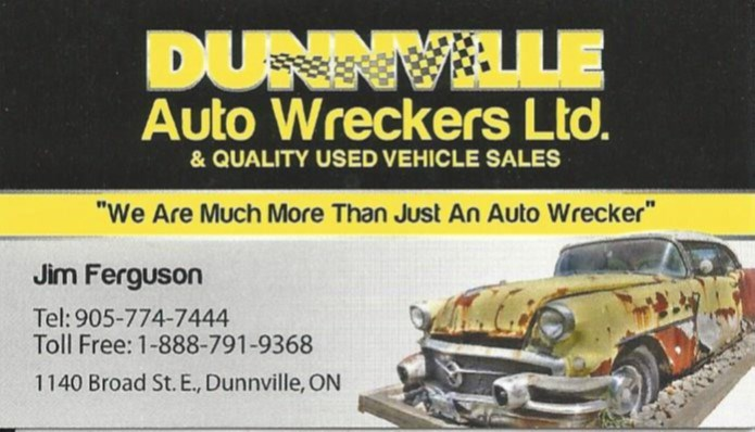 Dunnville Auto Wreckers Ltd