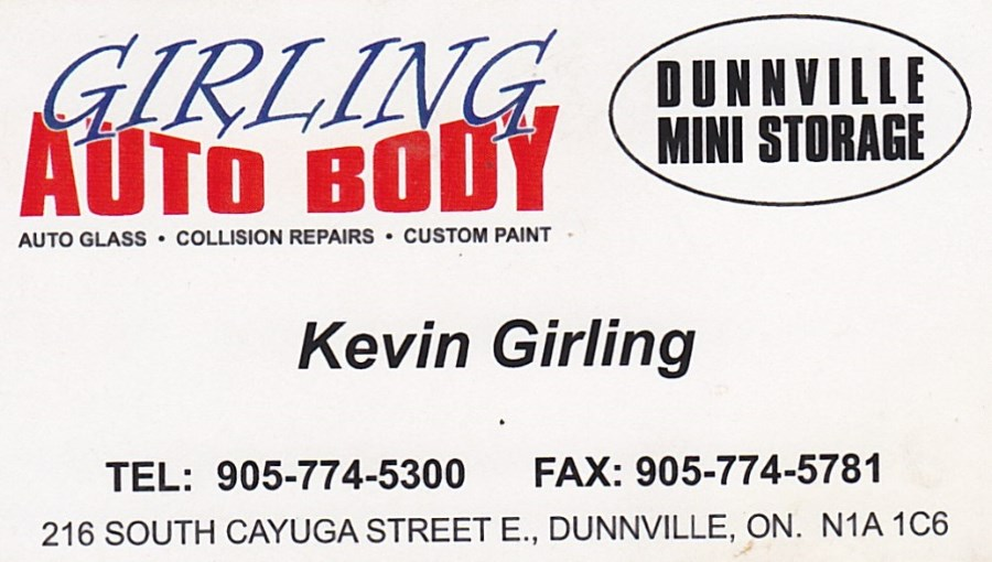 Girlings Auto Body